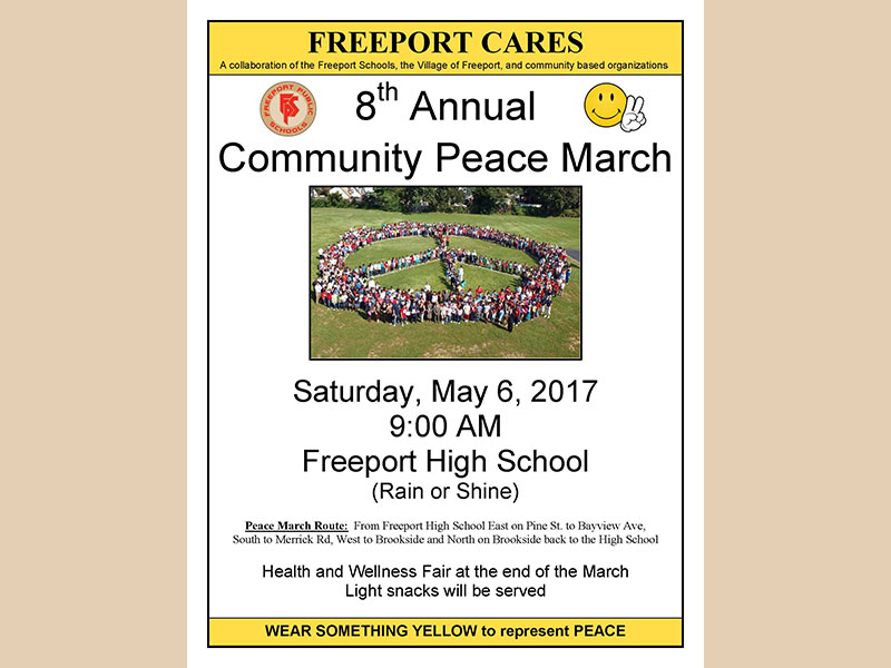 8th Annual Community Peace March