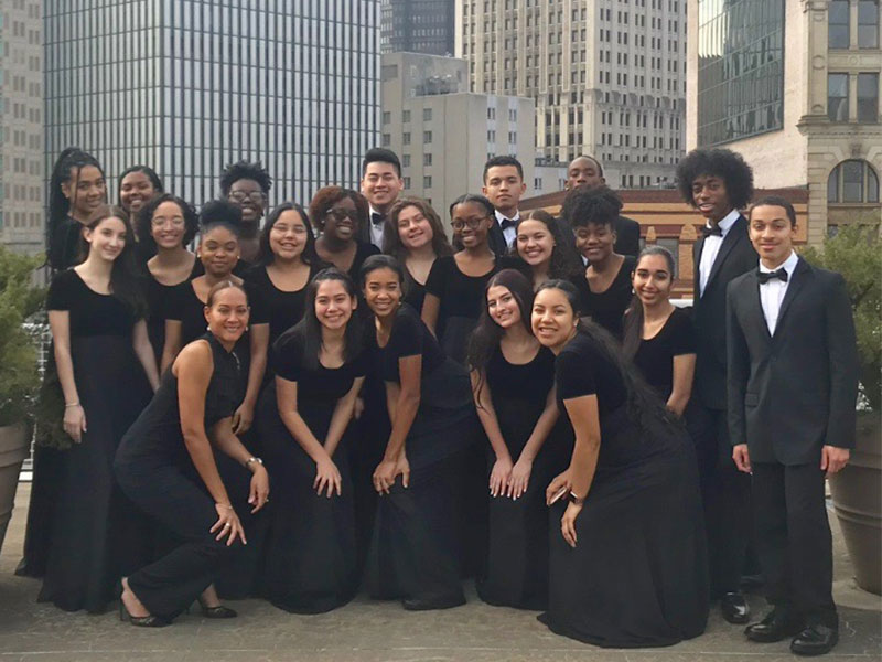 Select Chorale Performs at Prestigious Conference