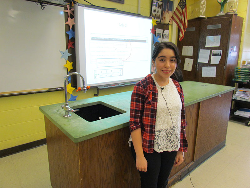 Standout Student Selected for Summer Science Program