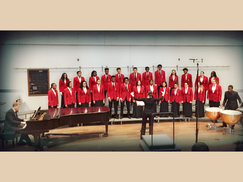Chorale Enthralls at Westminster