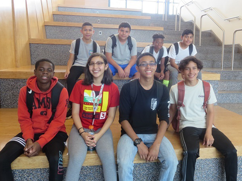 Students Participate in Summer P-Tech Program