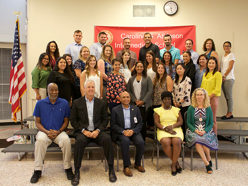 District welcomes new teachers