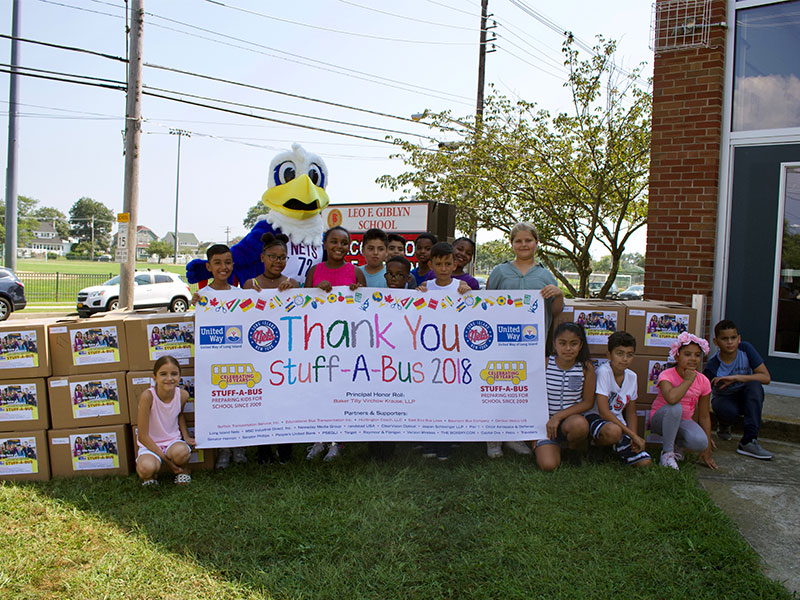 Stuff-A-Bus equips students for new year