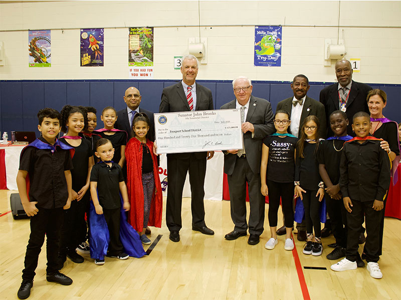 District Presented With $125K Check