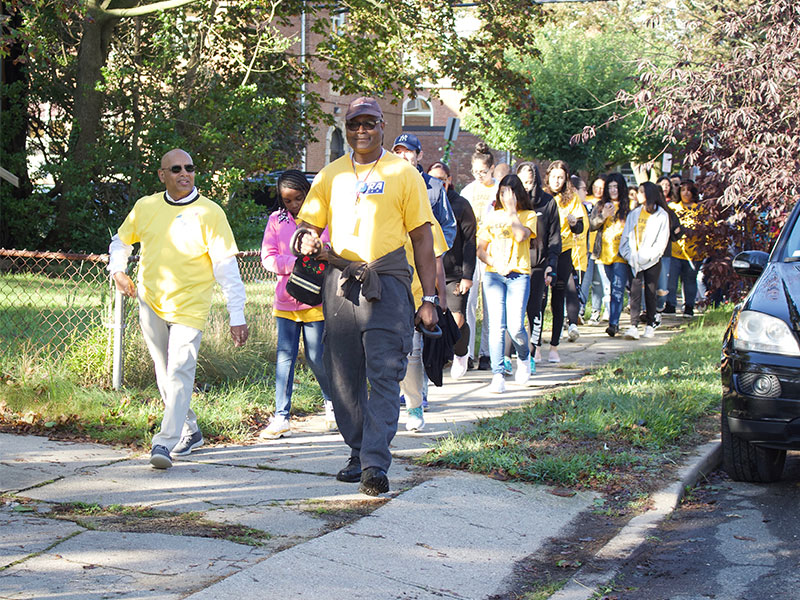 Freeport Once Again Marches for Peace