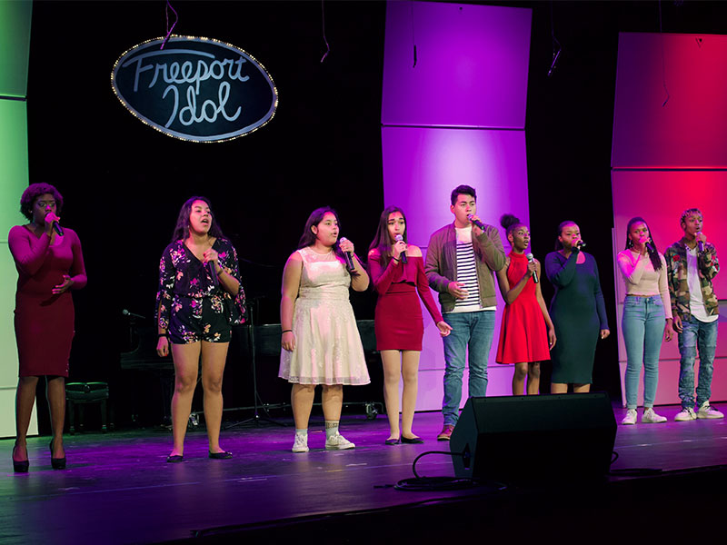 Students Face-Off in Freeport Idol Competition