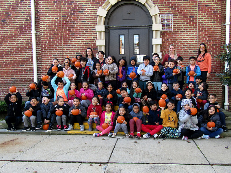 Students get festive with annual 'Pumpkin Day'