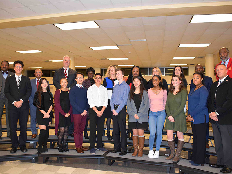 District Celebrates Superb Students and Staff