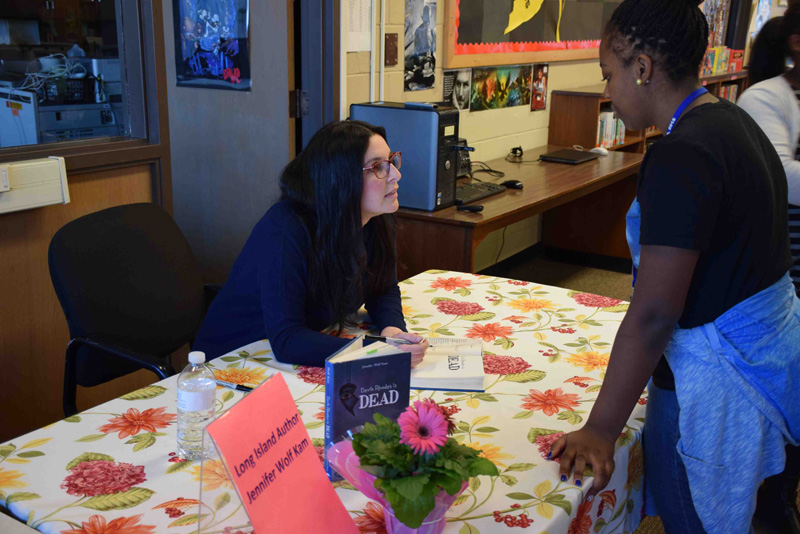 Author With a Special Message Visits Dodd