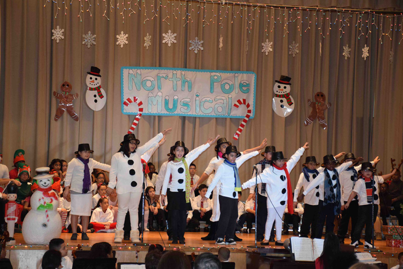 Bayview gives a glimpse of the North Pole