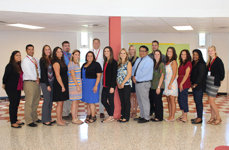 Administrators welcome new staff members