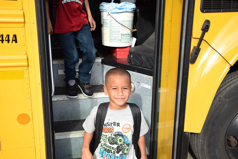 Students begin new school year in style