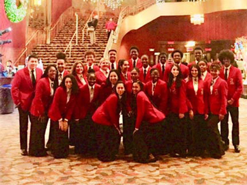 News12 Video of Freeport High School Select Chorale