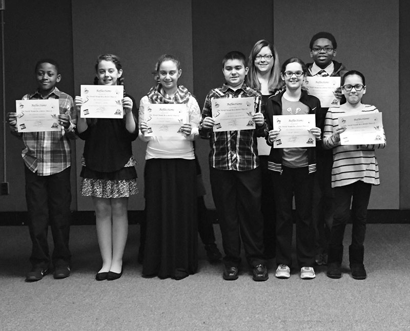 Congratulations to the Caroline G. Atkinson Intermediate School PTA Reflection Art Contest Participants and Winners!