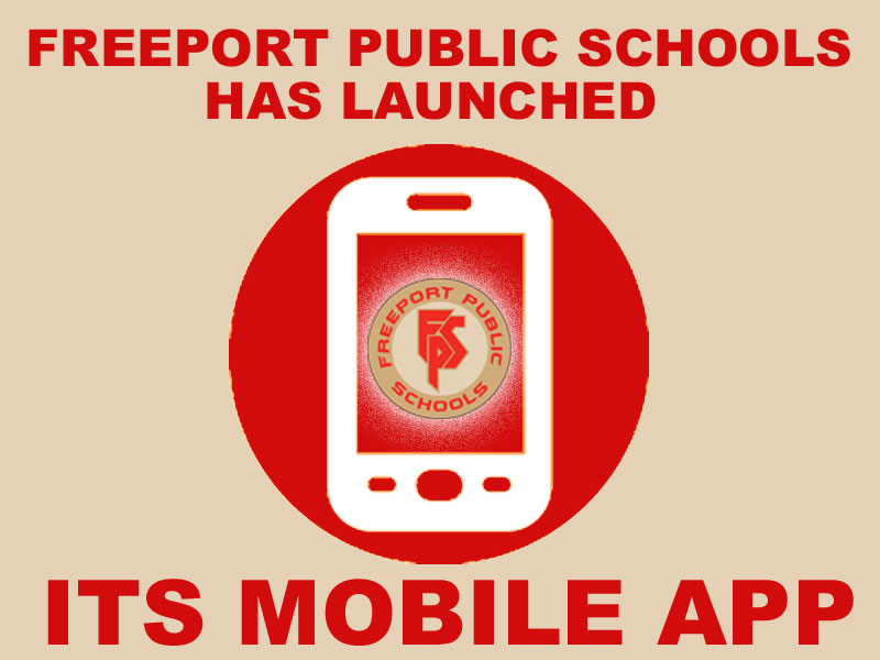 Freeport Public Schools has launched its mobile app!