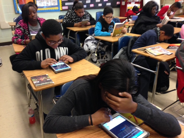 Dodd students apply themselves with iPad app