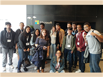 FHS Students Visit Microsoft Photo
