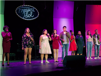 Students Face-Off in Freeport Idol Competition photo