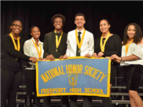 FHS Inducts 108 to National Honor Society photo