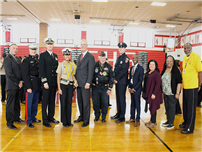 NJROTC Roars with Pride photo