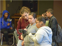 FHS Students Experience Augmented Reality photo