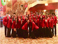 FHS Select Chorale Dazzles in Radio City Debut photo
