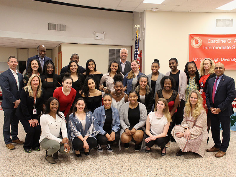 BOE Recognizes Winter Athletes